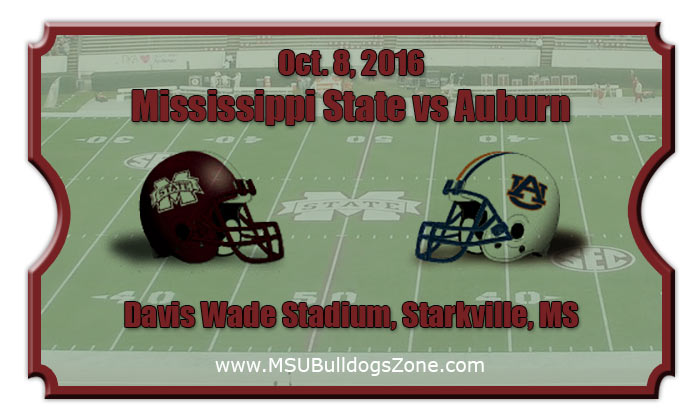 State bulldogs vs auburn tigers football tickets oct 8 2016