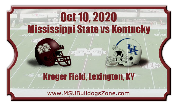 Mississippi State Bulldogs vs Kentucky Wildcats Football ...